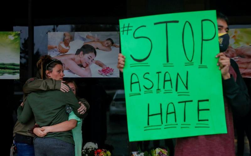 反亚裔暴力有增无减  引爆全美抗议怒火