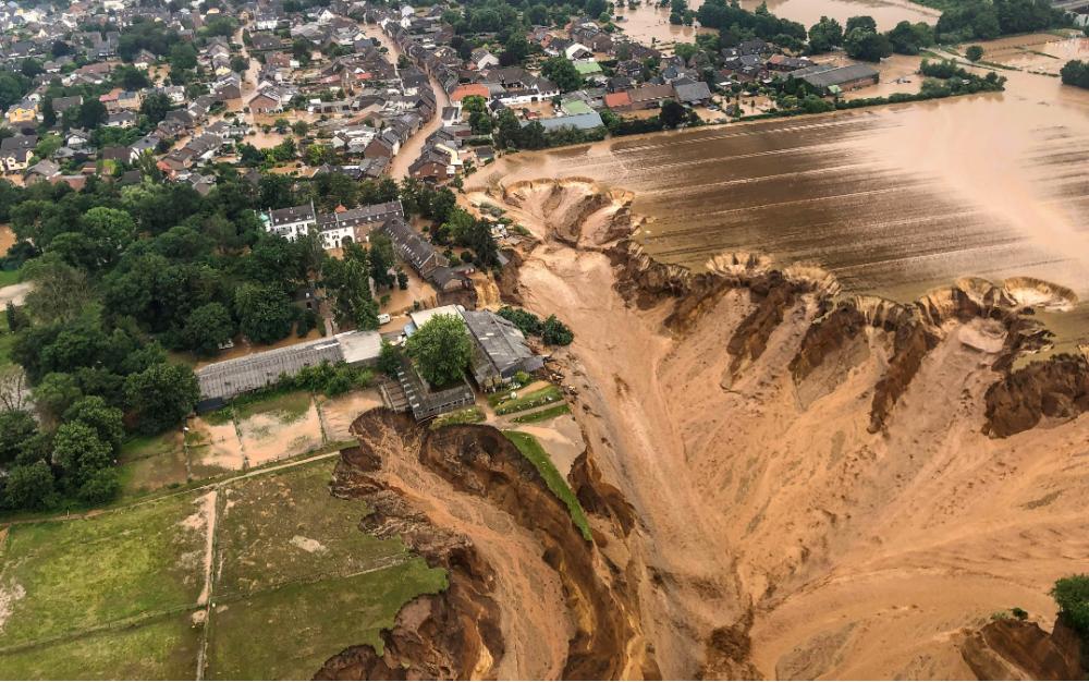 气候暖化 西欧遭遇百年来最严重洪患