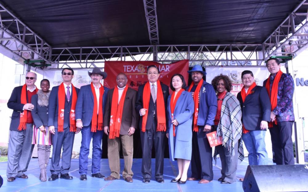 多元族裔的盛會 美南園遊會開啟農歷中國年