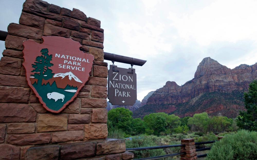 """26岁的女子在锡安国家公园""""峽谷探险""""坠崖身亡"""