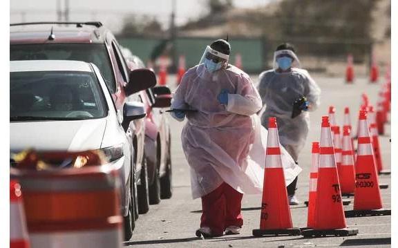 德克薩斯州周五報告有324例新冠病毒死亡,使該州死亡總人數超過4萬