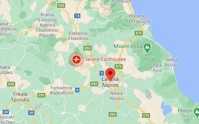 希腊中部地震   巴尔干地区感受到强烈的震撼