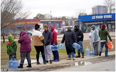 冬季風暴電源故障將德州推向電網癱瘓 缺水缺食危機 災難因德州的不當領導及反對法規和準備工作所造成的錯誤