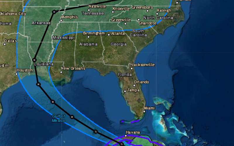 Laura升級成第3類颶風,恐朝4級邁進