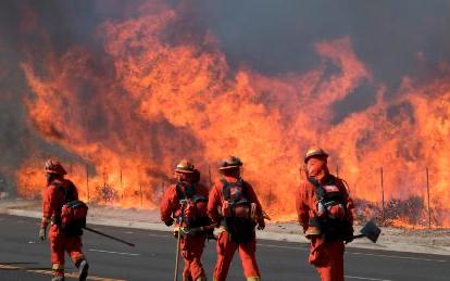 美國西海岸大火致26人喪生   數十人失蹤
