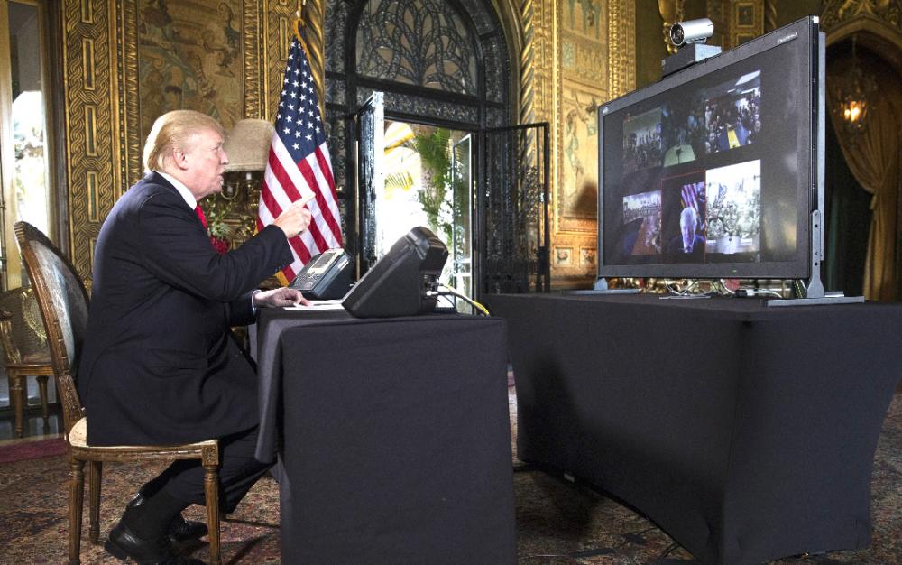 總統特朗普鼓勵州長對暴力抗議者采取攻擊性策略