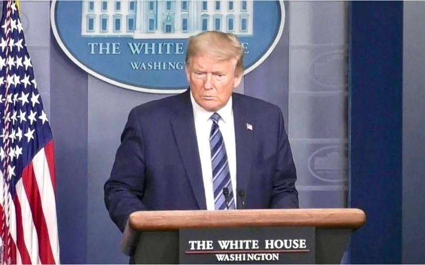 """特朗普警告""""無政府主義者""""不要破壞塔爾薩競選集會"""