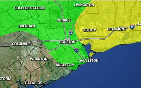 德州東南部將連日降雨,小心淹水!