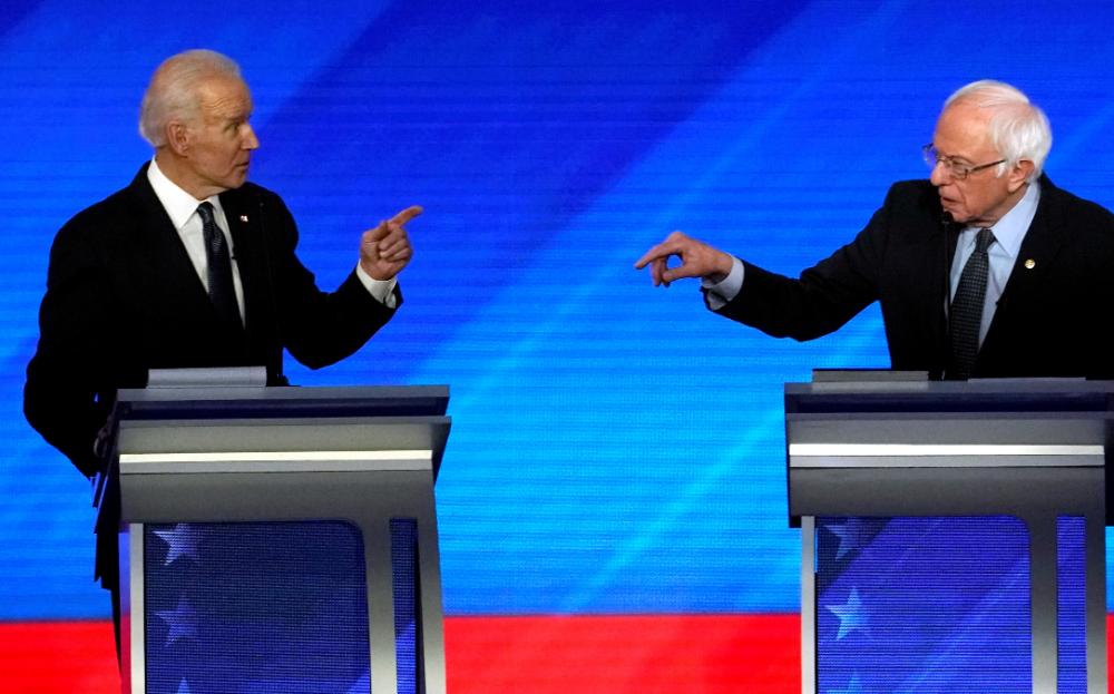 美民主黨電視辯論 聚焦雙冠軍