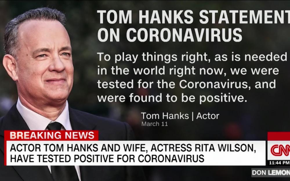 汤姆·汉克斯和丽塔·威尔逊分享新冠病毒感染后的最新信息