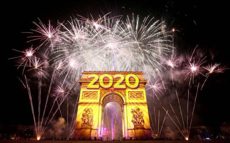 美南新聞祝福大家新年快樂!盤點2020年的國際大事