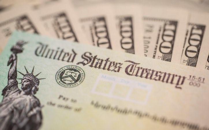 美國人可望在法案通過後一週內收到1,400元支票