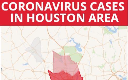 3月18日疫情更新:休斯頓地區感染人數44人