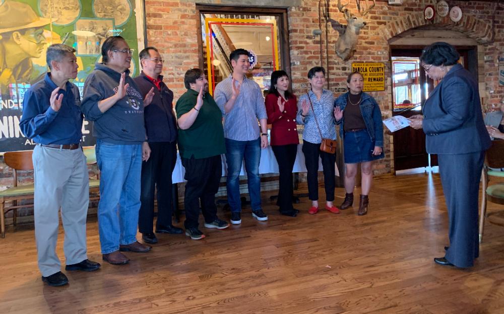 休士頓「李氏公所」舉行2020年會及選舉