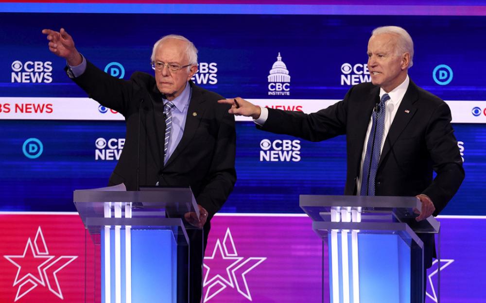 一個77,一個78,預計7上8下奪得民主黨總統候選人席位