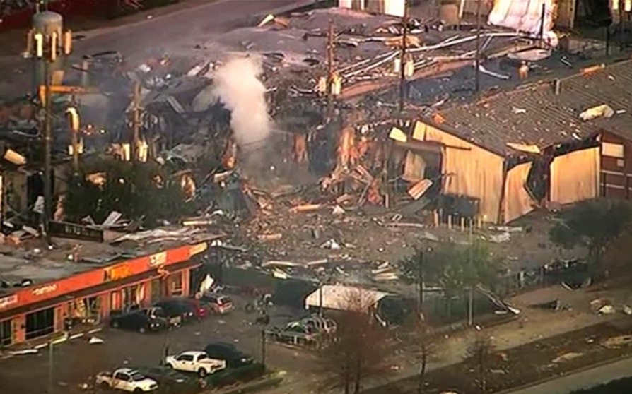 休斯顿西北部发生大爆炸案  两人丧生 数家受伤者入院
