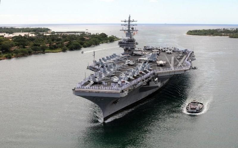 新加坡 美国和法国担心军队中的病毒爆发  美国防部提醒 冠状病毒可能打击更多海军舰艇