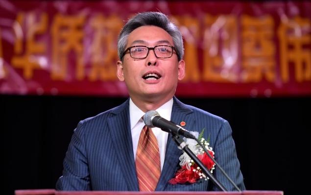 中国驻休斯敦总领馆蔡伟总领事将与国会议员艾尔格林星期日中午在新新餐厅共进午餐