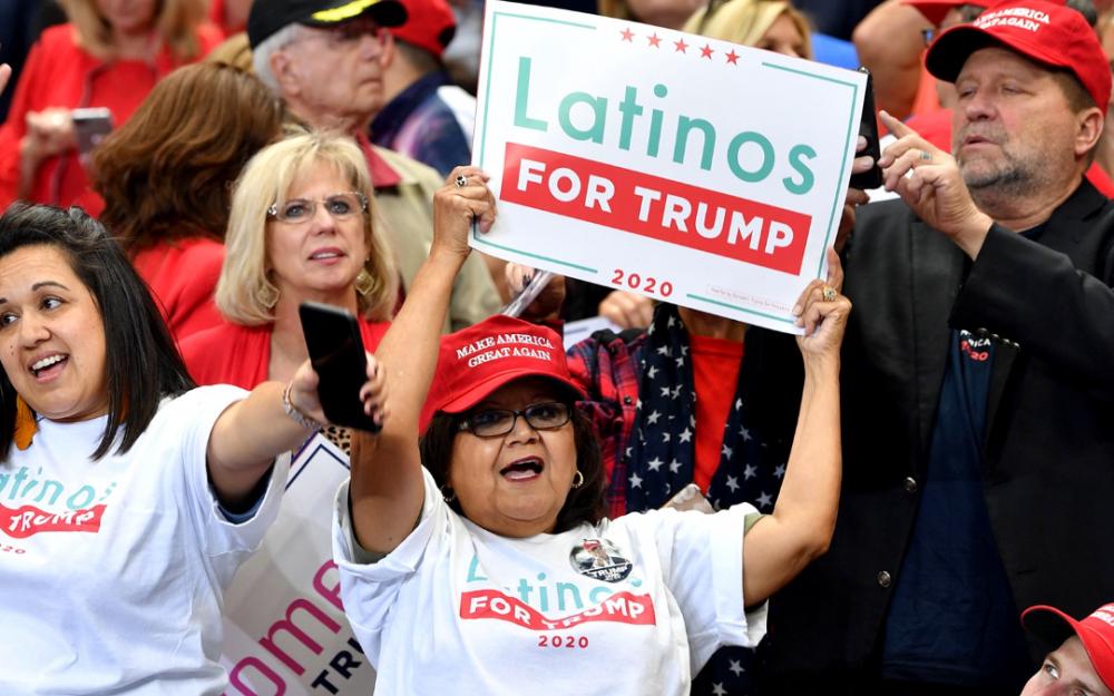 研究:川普已贏得德州足夠拉美裔支持