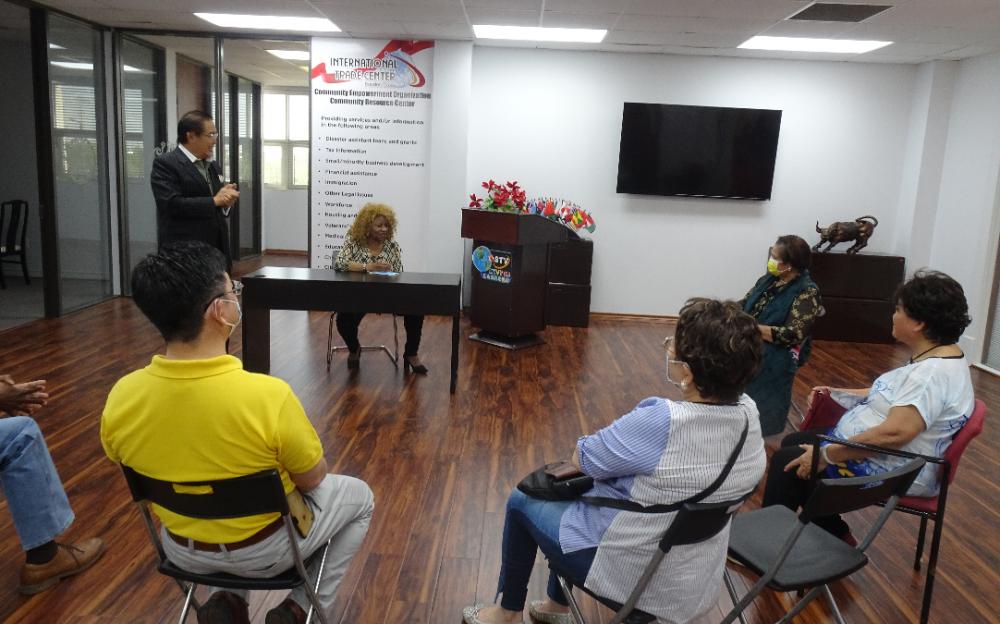 「美南大專校聯會」代表本週五訪問 「國際貿易中心社區資源中心」