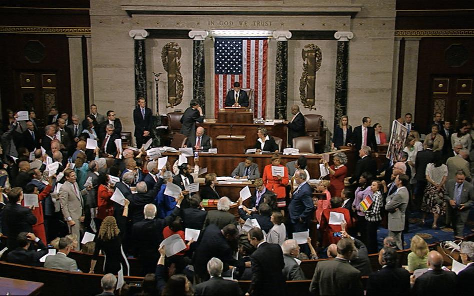 美國眾議院今日表決新控槍法案