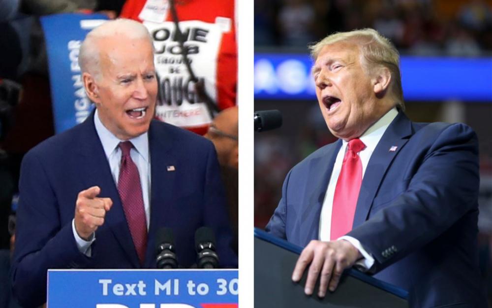 公平竞争   特朗普呼吁拜登在总统辩论之前或之后进行毒品测试
