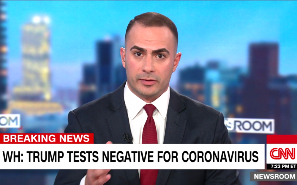 特朗普总统很幸运  接触多名新冠病人新冠病毒检测阴性