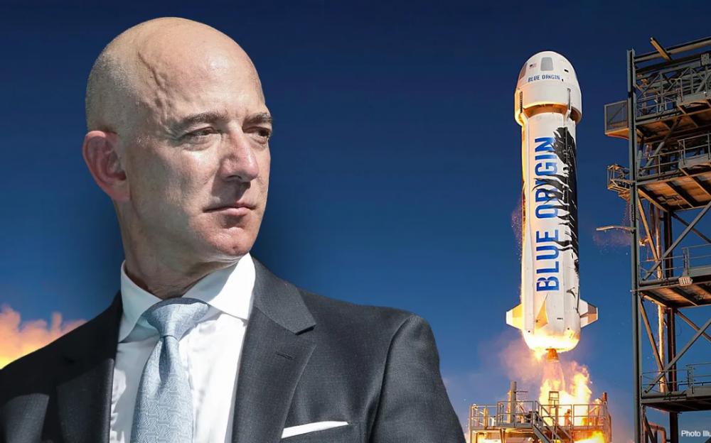竞争太空旅遊市场    蓝色起源透露贝佐斯的太空飞船发射详情