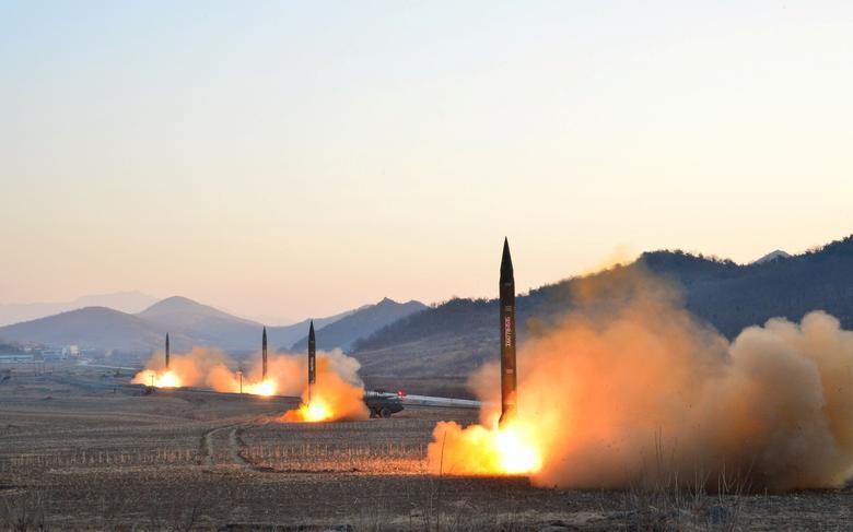 韓美軍演後 北韓試射飛彈