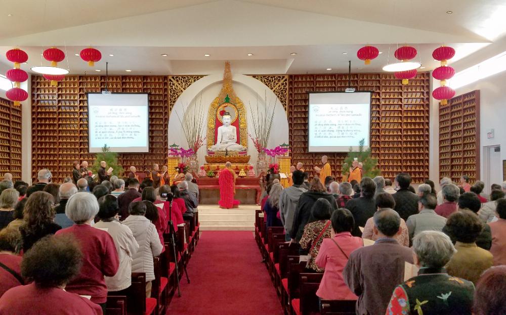 德州佛教会春节举行系列活动