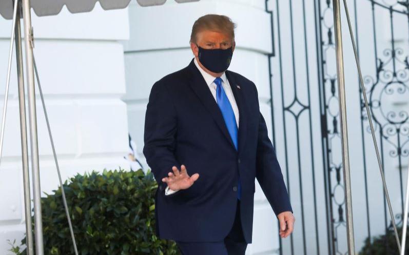 白宫严令戴口罩 停访西翼办公室