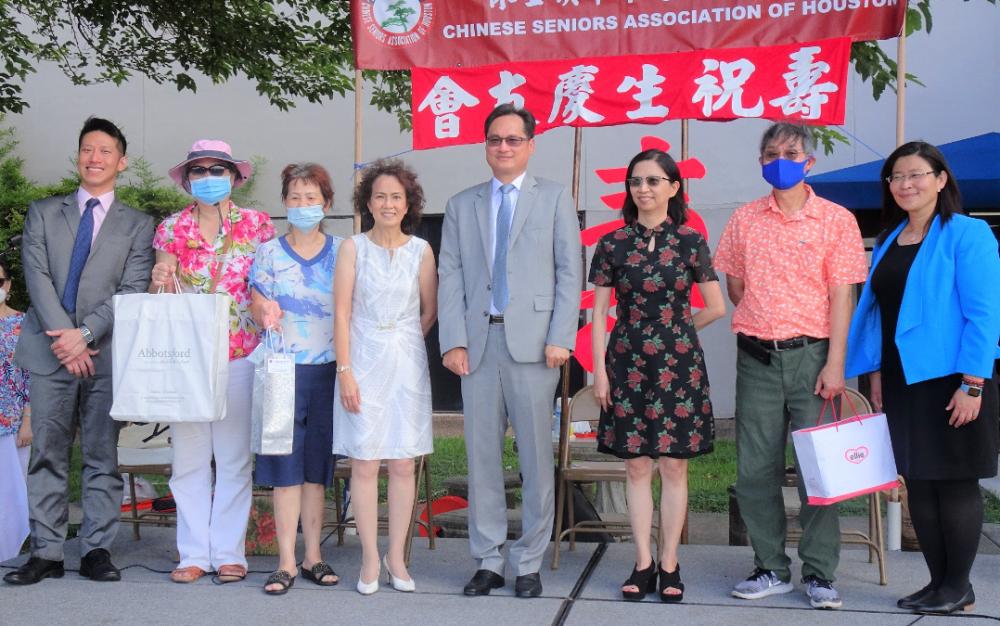 中华老人服务协会昨天上午举行 今年第一、二季会友庆生祝寿会