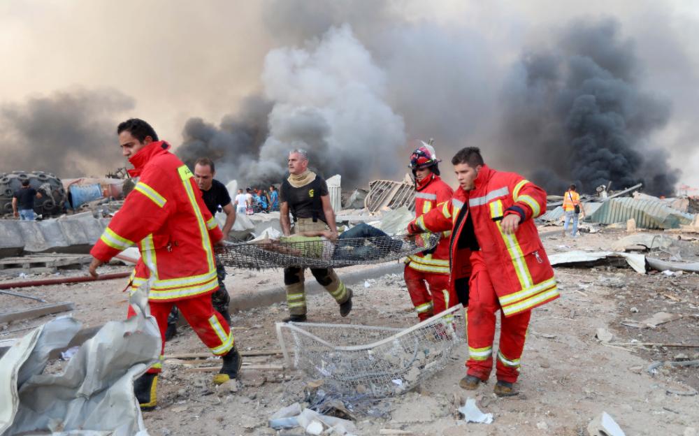 黎巴嫩貝魯特大爆炸死傷三千