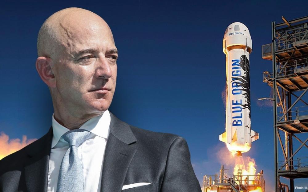 一位超級太空迷以2800萬美元競標贏得與世界首富貝佐斯同遊太空