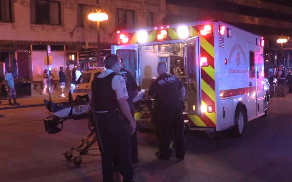 芝加哥周未槍擊事件至少造成5人死亡   2名警察受傷