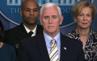 美国副总统彭斯办公室工作人员检测冠状病毒呈阳性