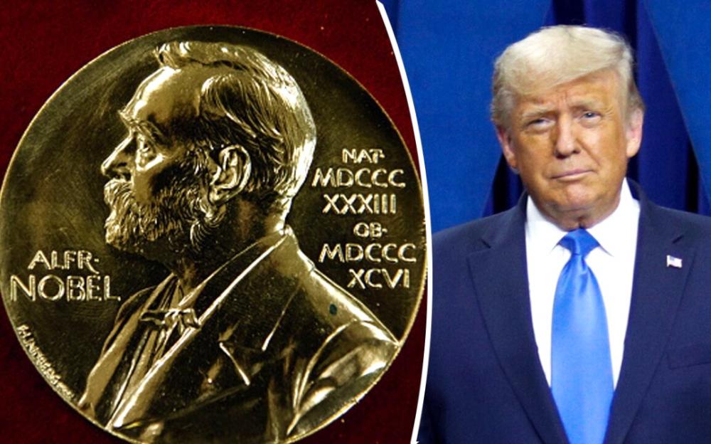 關鍵時刻,特朗普第叁次獲得2020年諾貝爾和平獎提名
