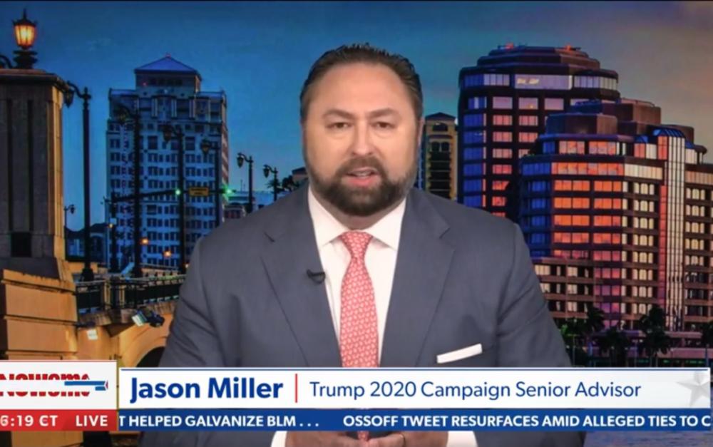 """特朗普競選高級顧問米勒:我們想于1月6日在國家舞台展示""""具體證據"""""""