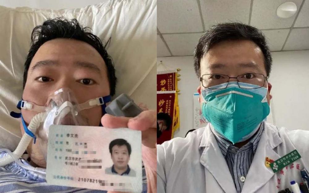 敲響武漢冠狀病毒警鍾的武漢醫生李文亮死于新冠肺炎