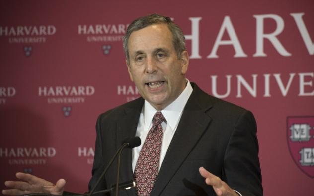 震驚!世界排名第一的哈佛大學校長和夫人檢測冠狀病毒呈陽性