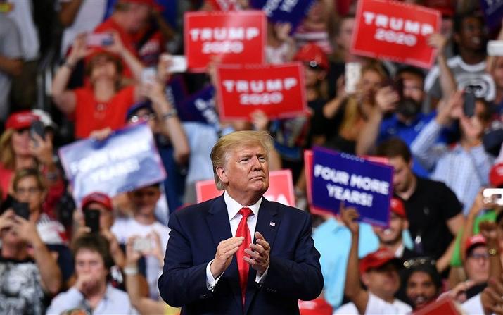 CNN報道:忠實的特朗普支持者將投票給他繼續統治國家