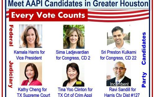 地方選舉要投誰?帶你看大德州地區的12位亞太裔候选人