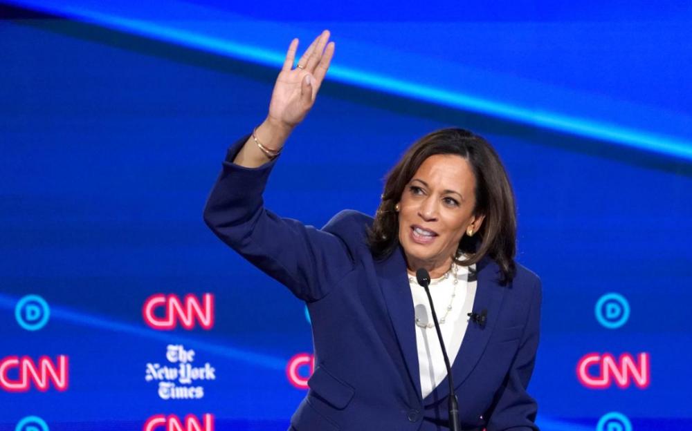 拜登副手 首位非裔女性副总统候选人