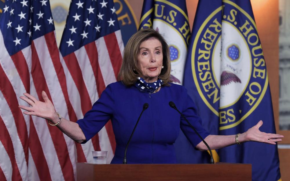 佩洛西:必須在48小時內與特朗普政府就新冠病毒救助方案達成協議