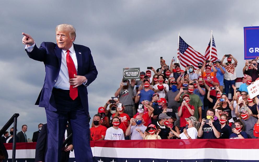 特朗普的信心爆棚   希望夺取共和党近五十年未贏得的明尼苏达州