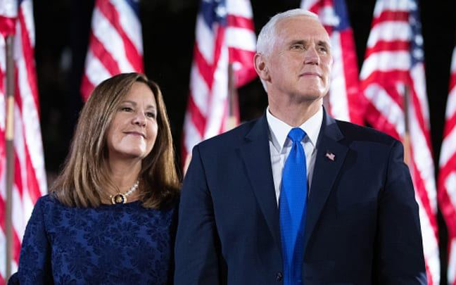 特朗普確診後副總統彭斯和第二夫人的冠狀病毒測試呈陰性