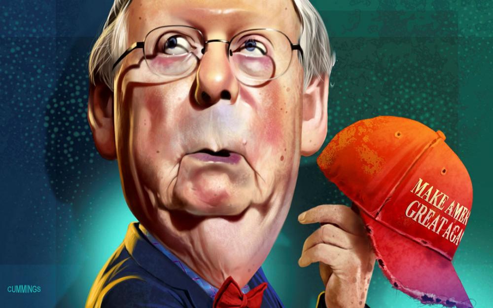 麥康奈爾變臉    提新纾困法案    廢除第230條款    調查選舉欺詐