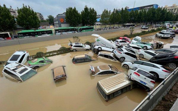 一方有難八方支援  休斯敦華人爲河南水災舉行赈災募捐活動