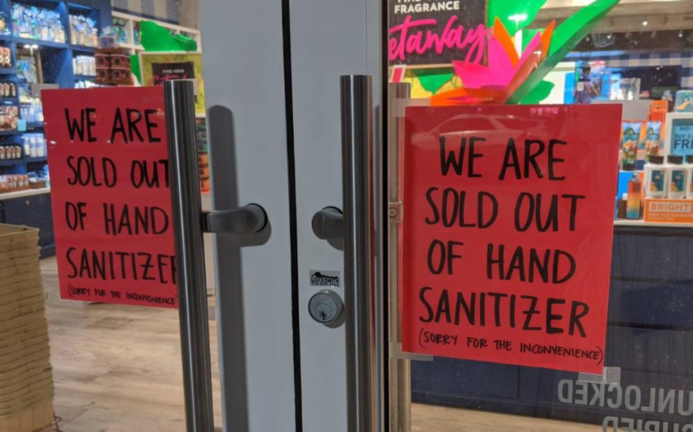 乾洗手荒 受冠狀病毒疫情影響 乾洗手、口罩一瓶難求!