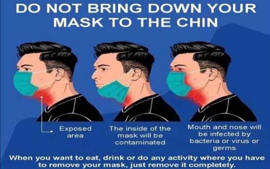 【有片】口罩往下巴拉、摸臉... 這些小動作可能讓你增加感染風險